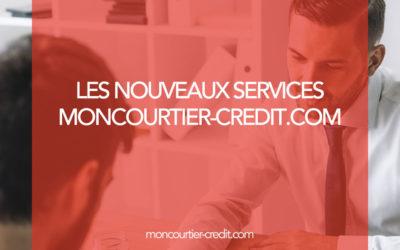 Les nouveaux services de Moncourtier-Crédit.com