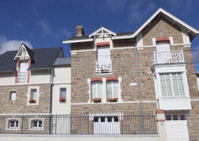 Modern granite house in Saint-Malo